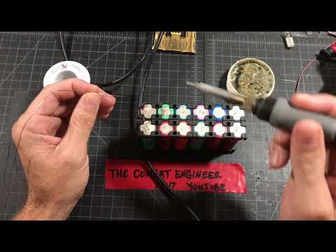 How to properly solder 18650 batteries, fuses, & busbars