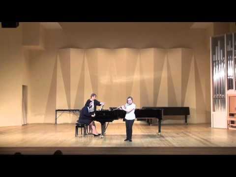 Мартину, Богуслав - Соната для флейты, скрипки и фортепиано