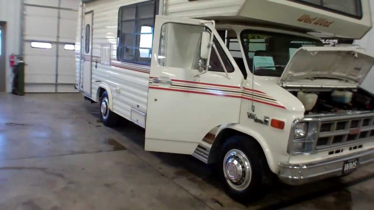 Gmc Motorhome For Sale >> 1978 GMC Van Westwing MPV Motorhome Camper 28,546 For Sale WMS CentralOhioUsedCars.com Andy ...