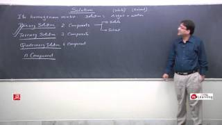 Introduction: Solution and colligative properties - 01 For Class 12th