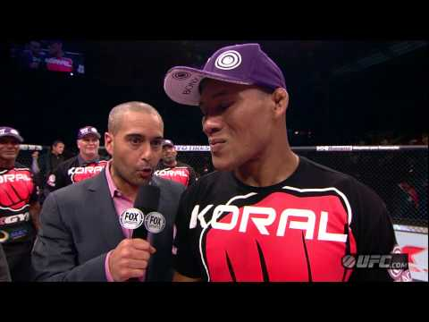 UFC on FX 8: Jacare Souza Post-Fight Interview