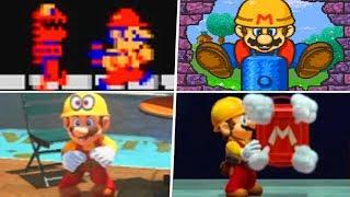 Evolution of Builder Mario (1985 - 2019)