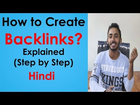 How to Create Backlinks (Step by Step) SEO 2018 Explained Hindi