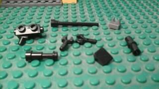 Lego how to build LEGO SNIPER RIFLE / AWP tutorial