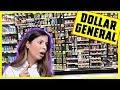 FULL FACE OF DOLLAR GENERAL MAKEUP