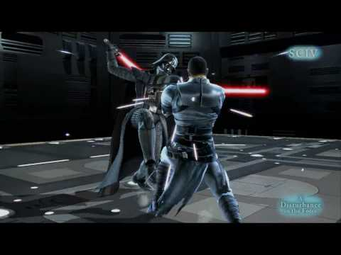 Star Wars - Soul Calibur IV -  A Disturbance in the Force - (Machinima Fan Film) HD