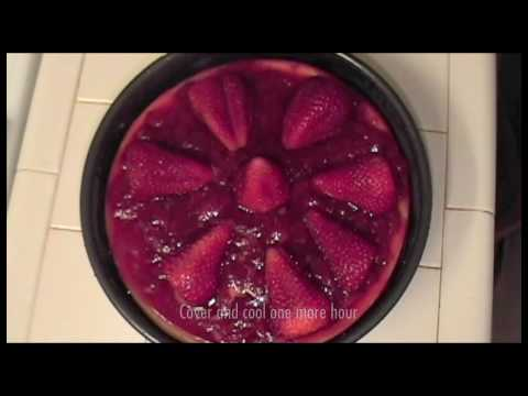 Strawberry Cheesecake Recipe - Delicious Desert with Fresh Strawberries