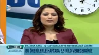 Ayça Kaya Zayıflama Diyeti-10 Günde 5 Kilo Zayıflatan Diyet Listesi.mp4