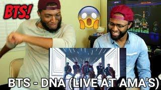 Download Lagu BTS - DNA (Live at the AMA's 2017) (REACTION) Gratis STAFABAND