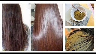 HOW TO MIX HENNA FOR DRY AND DAMAGED HAIR GET RID OF SPLIT ENDS 100 WORKING