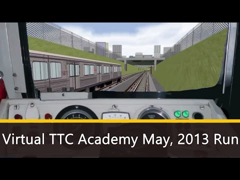 [HD] Virtual TTC Academy Multiplayer Run
