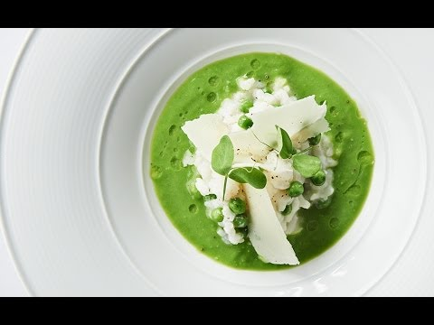 Mill Creek Green Pea Risotto | Risotto aux petits pois