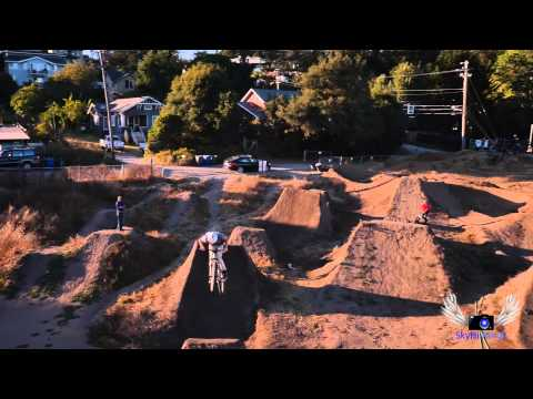 SkyHi Aerial - Aptos Post Office Jump Course