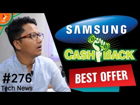 Tech News of The Day #276 - OPPO F5 Youth,Samsung CashBack,LG Signature,Android Oreo,Huawei Nova 2s