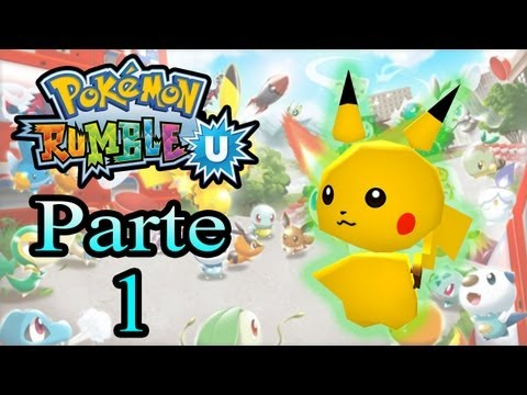 Let's Play: Pokémon Rumble U - Parte 1