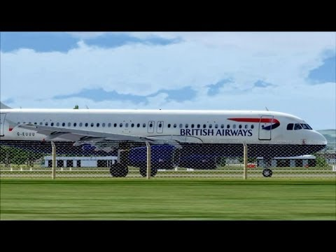 FSX Manchester Airport Traffic ( HD )