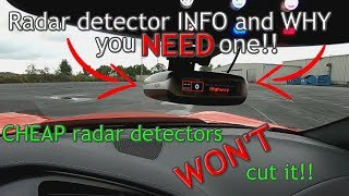 Why you NEED a radar detector!! WHICH one should YOU BUY?!