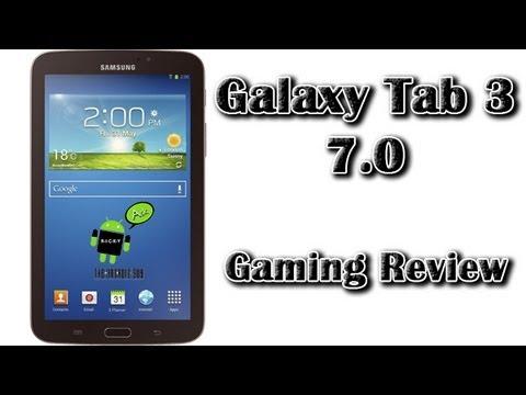 Samsung Galaxy Tab 3 7.0 Gaming Review