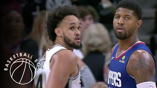 [NBA] Los Angeles Clippers vs San Antonio Spurs, Full Game Highlights, November 29, 2019