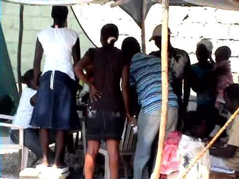 BENDICION PARA HAITI CORP. - Haiti A Un Año Del Terremoto Parte 1/2