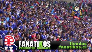 UNIVERSIDAD DE CHILE 3 VS COBRESAL 1