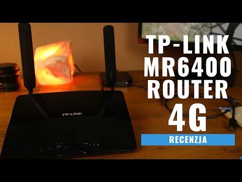 Router 4G TP-Link MR6400 - test. recenzja PL