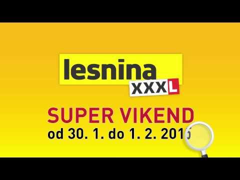 Super Vikend V Lesnini Xxxl: Do -50 % video