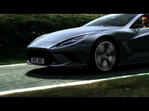 2014 Lotus Elite Paris Motor Show Promo