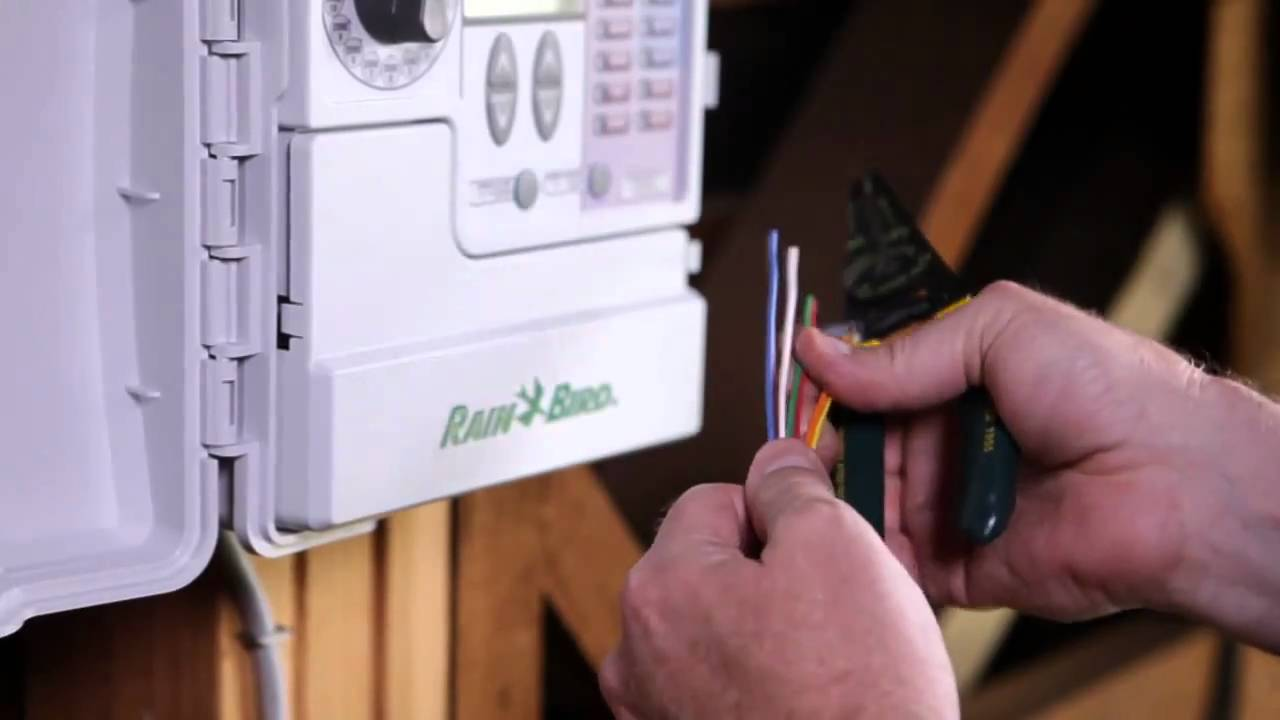 Rain Bird Sst Smart Sprinkler Timer Installation Youtube