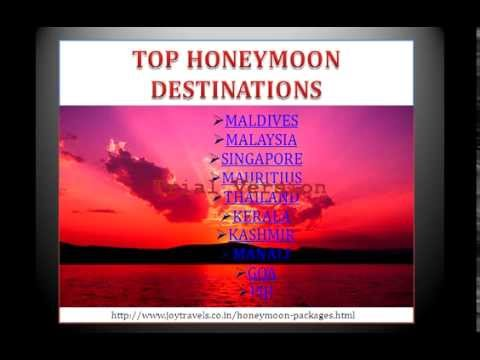 TOP HONEYMOON DESTINATIONS in India and Abroad