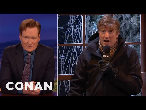 Winter Storm Apocalypse!  - CONAN on TBS