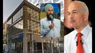 NDP Forced To Mortgage Jack Layton Building As The Party Is Cash Strapped