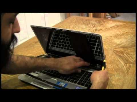 Laptop screen replacement / How to replace laptop screen HP ENVY m6 1125DX
