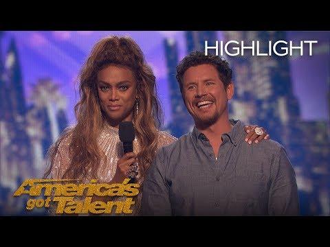 The Moment Michael Ketterer Got 5th Place On AGT - America's Got Talent 2018