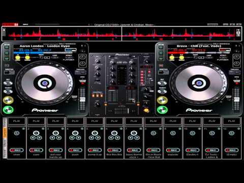 How to put virtual dj skins