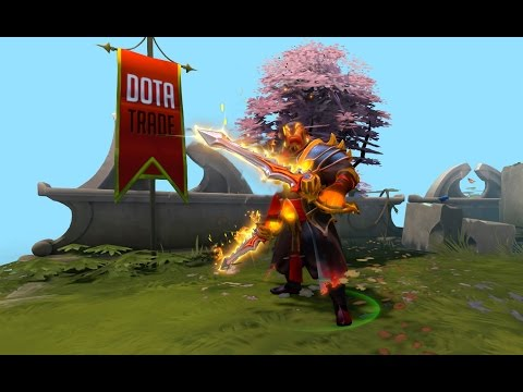 Rapiers Of The Burning God Ember Spirit Immortal Preview Dota 2 video