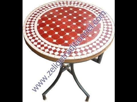 Table Marocaine Mosaique Tables Mosaique Pas Cher