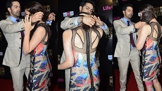 CUTEST PAIR: Varun Helps Alia with her Hair