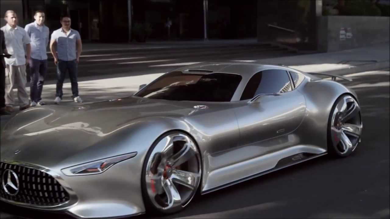 Making of the mercedes benz amg vision gran turismo youtube for Mercedes benz amg vision gt