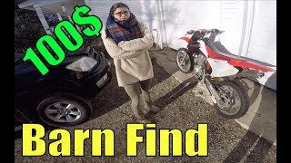 100$ Craigslist Dirt Bike - Can We Fix It?
