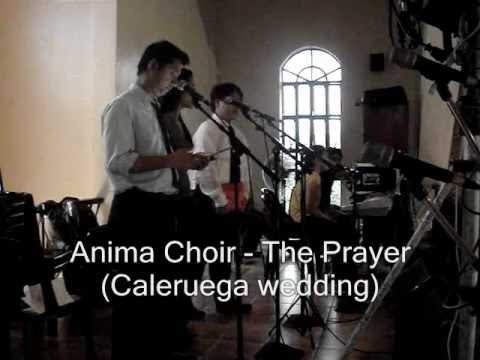 The Prayer (cover) by Anima Choir in a wedding at Caleruega Tagaytay
