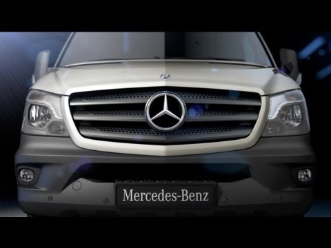 NEW 2014 Mercedes Sprinter - Launch