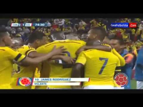 Increible golazo de James Rodriguez Canadá vs Colombia 0-1 Amistoso Internacional 2014