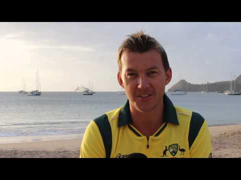 International fast bowler Brett Lee tells us why cricket is the number 1 sport
