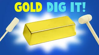 Surprise Dig It Gold Bar - Did I Find Gold?!?