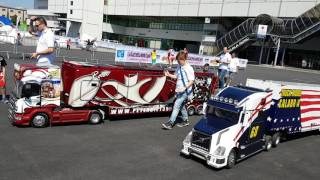 Modeltruck Big Parade at Expo Model Verona part one