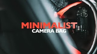 My MINIMALIST Camera Bag (Filmmaking Gear 2018)