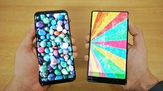 Samsung Galaxy S8 Plus vs Xiaomi MI MIX - Speed Test! (4K)