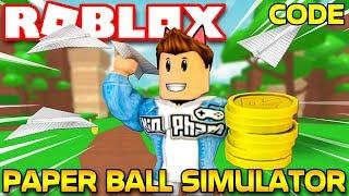 Roblox | KIA XẢ RÁC ĐẦY ĐƯỜNG VẪN KIẾM ĐƯỢC TIỀN VÀNG - Paper Ball Simulator (Code) | KiA Phạm