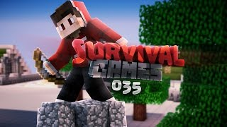Minecraft Survival Games [MCSG] #035: Freaking Dinosaur!